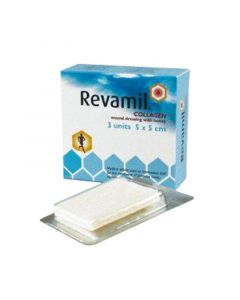 کلاژن عسل روامیل Revamil Collagen Wound Dressing