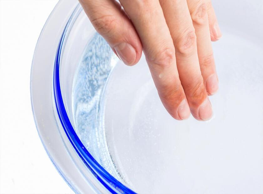درمان سوختگی با آب جوش
