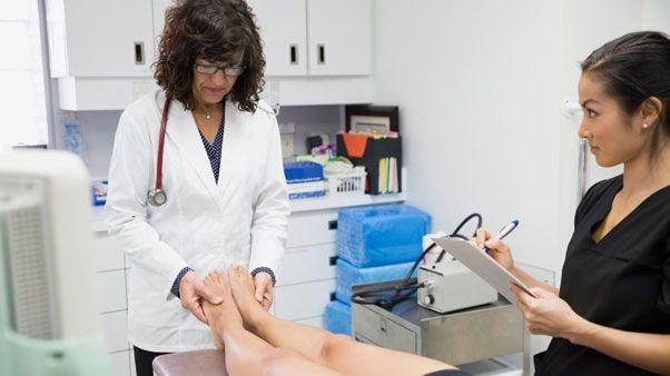محافظت از پای دیابتی